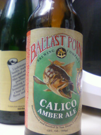 "ballast point calico amber ale - as mclovin' says, ""i heard they've added more hops to it"""