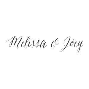 Joey Loves Melissa (Wedding)